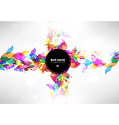 abstract floral ornaments for design vector image