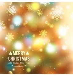 Christmas tree blurred vector