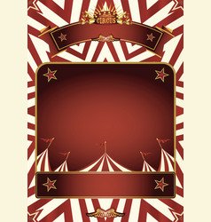 circus nice poster vector image