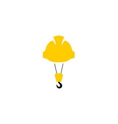 Crane contruction logo vector