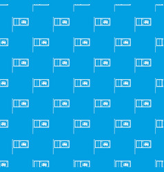 flag of sri lanka pattern seamless blue vector image vector image