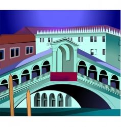 grand canal vector image