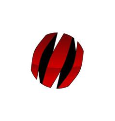 Letter m modern vector