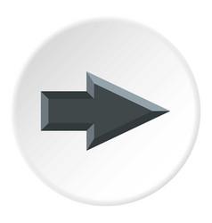Pointer icon circle vector