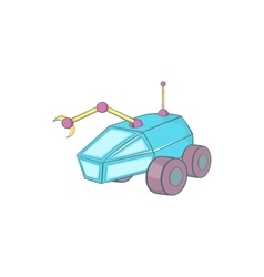 Rover icon cartoon style vector