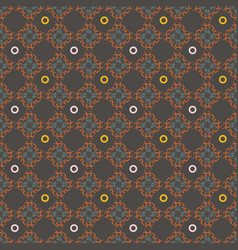 seamless geometrical patterns vintage textures vector image