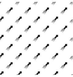 Squid pattern vector