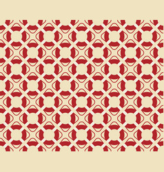 vintage seamless texture red life buoy vector image