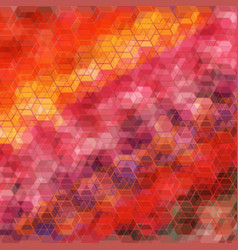 six coving wave abstract background for design vector image vector image
