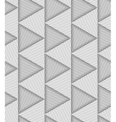 Abstract Striped Triangles Geometric Seamless vector image