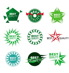 collection of icons best quality vector image