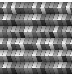 Monochromatic geometric structure vector image