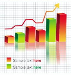 new graph vector image