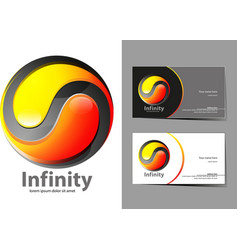 infinity vector image vector image