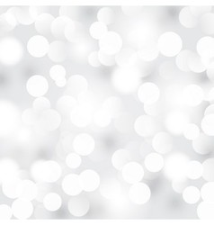 Light silver abstract background vector image vector image