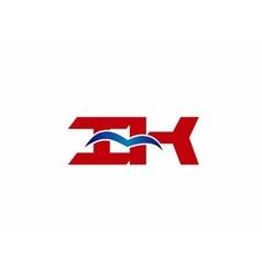 iK company logo vector image vector image
