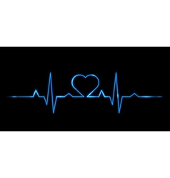 Cardiogram of love vector