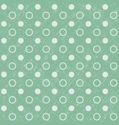 abstract geometric retro seamless polka dot vector image