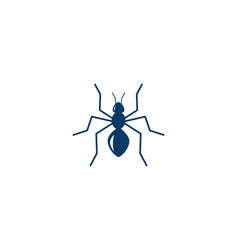 ant logo template vector image