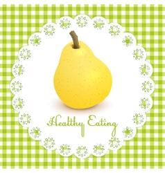 Healthy eating vector