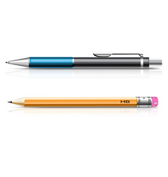 Pensil and pen vector