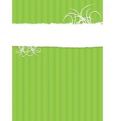 White grunge banner vector