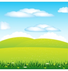 Year landscape vector image