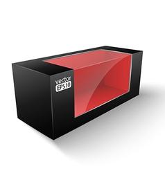 Black box vector image