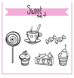 SweetSet vector image