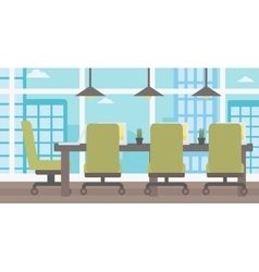 Background of conference room vector image