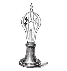 Radiometer vintage engraving vector image