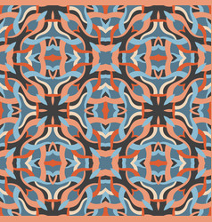 abstract background seamless pattern carpet vector image