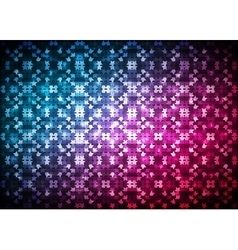 Abstract blue red light background vector