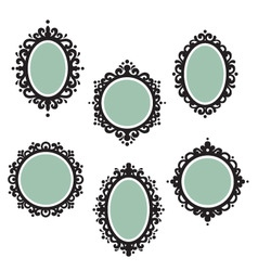 antique frames vector image