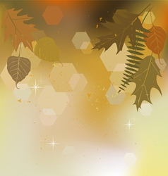 Autumn background with a space for the text vector image