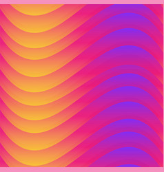 Warm color wave seamless texture vector