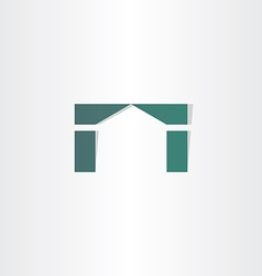 house home simple icon design vector image vector image