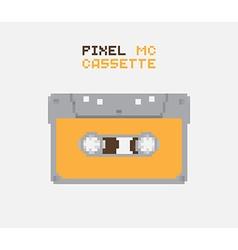 Pixel MC Cassette vector image