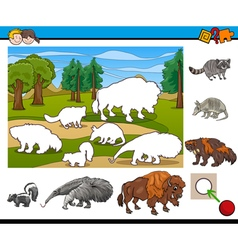educational activity for children vector image vector image