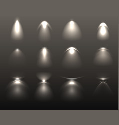 light effects set vector image vector image