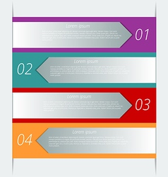 infographic background design vector image vector image