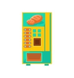 Bread vending machine design vector