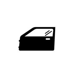car door icon vector image