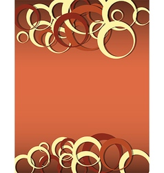 circles vertical vector image