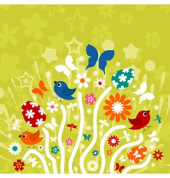 Easter background3 vector