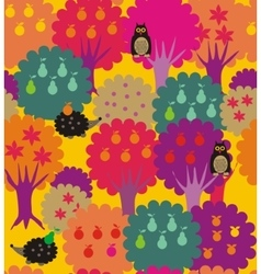 Fairy forest - garden vector