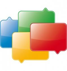 forum symbol vector image