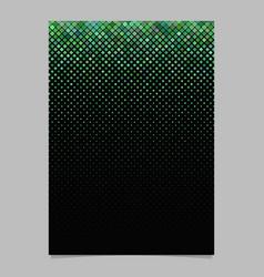 geometrical diagonal square pattern poster vector image