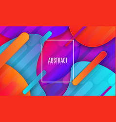 modern minimalist cover design abstract vector image