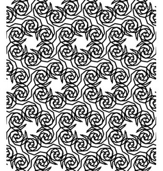Pre 04 110 Black and white seamless pattern with vector
